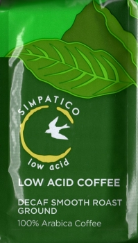 Simpatico Low Acid Arabica Coffee Decaf