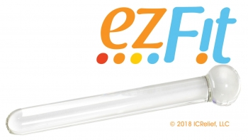 EZFit Therapeutic Glass Wand
