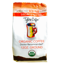 Tylers Coffee- Decaf Ground
