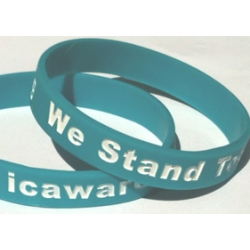 IC Awareness Silicon Bracelet