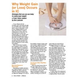 Why Weight Gain (Or Loss) Occurs in IC - DOWNLOAD VERSION