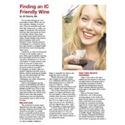 Finding An IC Friendly Wine - EMAIL VERSION